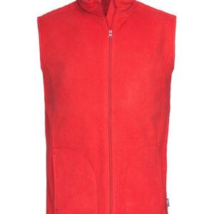 ST5010-SRE ACT FLEECE VEST, чоловіча, Scarlet Red