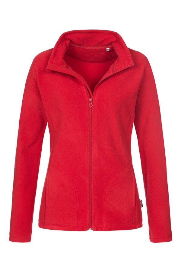 ST5100-SRE FLEECE JACKET жіноча, Scarlet Red