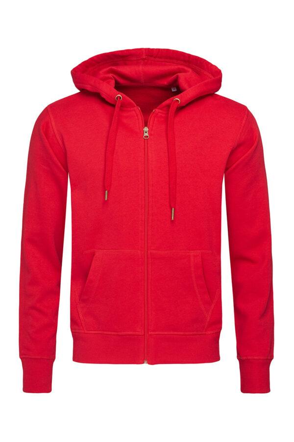 ST5610-CSR SWEAT JACKET чоловіча, Crimson Red
