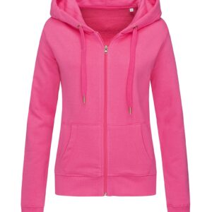 ST5710-SPK SWEAT JACKET жіноча, Sweet Pink