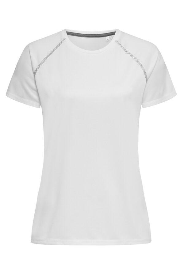 ST8130-WHI ACTIVE 140 TEAM RAGLAN жіноча, White