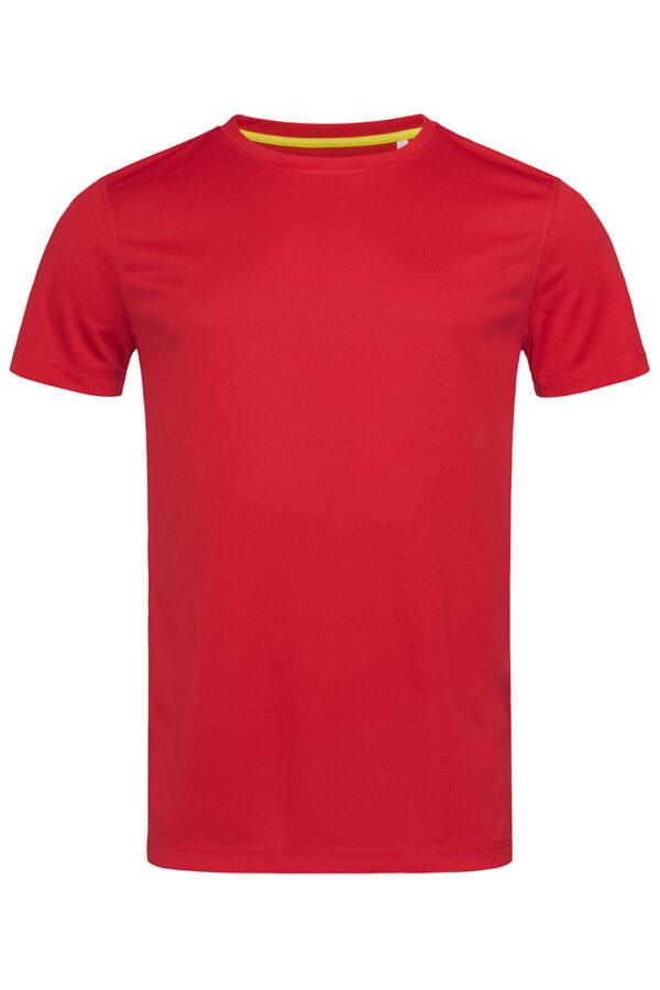 ST8400-CSR ACTIVE 140 CREW NECK чоловіча, Crimson Red
