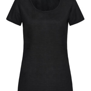 ST8700-BLO CLAIRE V-NECK жіноча, Black Opal