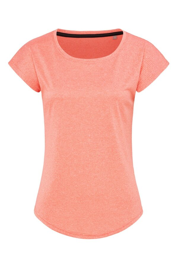 ST8930-CLH RECYCLED SPORTS-T MOVE жіноча, Coral Heather