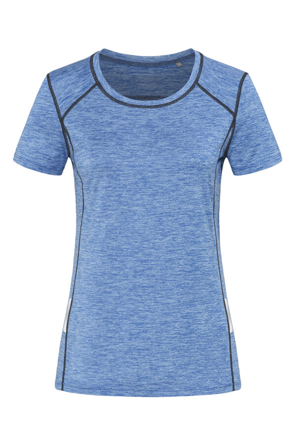 ST8940-BLH RECYCLED SPORTS-T REFLECT жіноча, Blue Heather