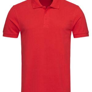 ST9060-CSR HARPER POLO чоловіча, Crimson Red