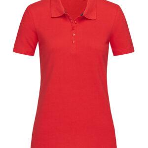 ST9150-CSR HANNA POLO жіноча, Crimson Red