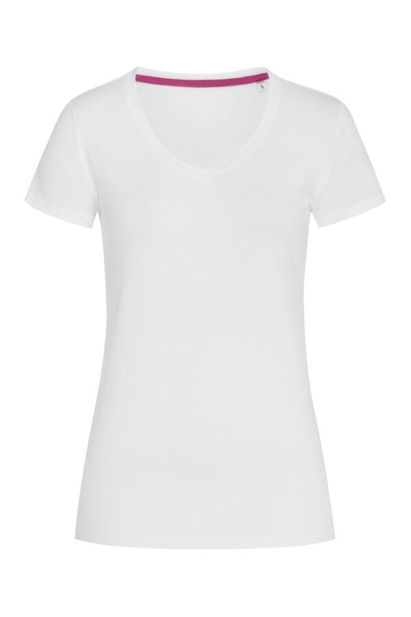 ST9710-WHI CLAIRE V-NECK жіноча.
